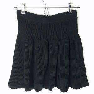 Candies Black Knit Skirt XS
